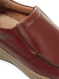 Komfort-Slipper Cognac Detail 4
