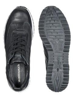 Komfort-Sneaker Schwarz Detail 2