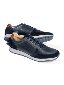 City-Bequem-Sneaker Blau Detail 1