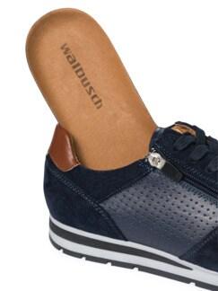 Klimaporen-Sneaker Blau Detail 3