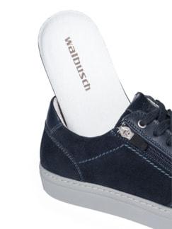 Reißverschluss-Sneaker Blau Detail 3