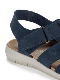 Bäcker-Sandale Blau Detail 3