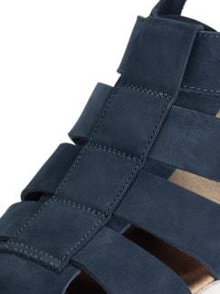 Bäcker-Sandale Blau Detail 4