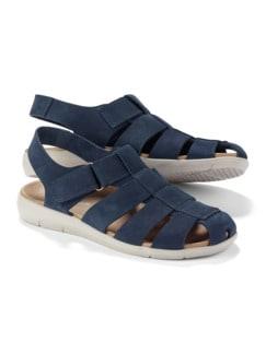 Bäcker-Sandale Blau Detail 1