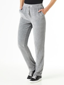 Nicki Homewear Hose Grau Detail 1