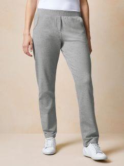 Sweatshirthose Grau meliert Detail 1