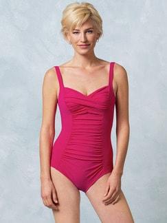 Badeanzug Shape Effekt Pink Detail 1