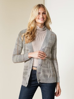 Strickjacke Highlander