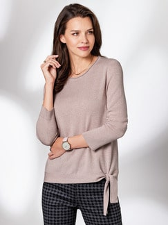 Glamour Pullover Softlana Rosa Detail 1