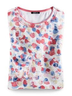 Shirt Aquarelltupfen