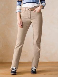 Passform-Jeans Feminine Fit Sand Detail 1