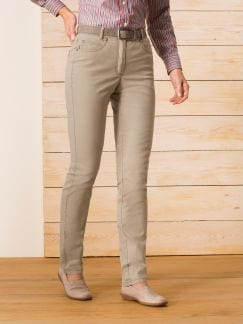 Powerstretch-Jeans T400 Sand Detail 1