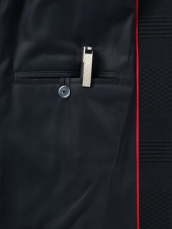 Jacquard-Jersey-Blazer Marine Detail 4