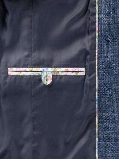 Tollegno Blazer Jeansblau Detail 4