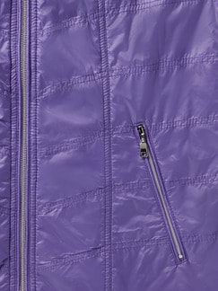 Microfaser-Leichtweste lavendel Detail 4