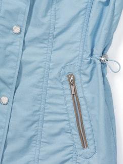 Baumwolljacke Simple Life Blau Detail 4