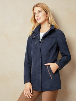 Leichtjacke Windstopper Navy Detail 1