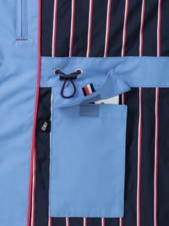 Aquastop Parka Waterkant Meerblau Detail 4