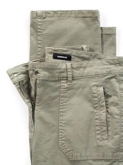 Cargohose Cottonmix Khaki Detail 4