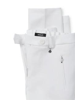 Kofferhose Zauberbund Weiß Detail 4