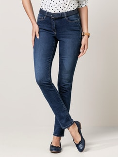 Skinny Jeans Blue Stoned Detail 1