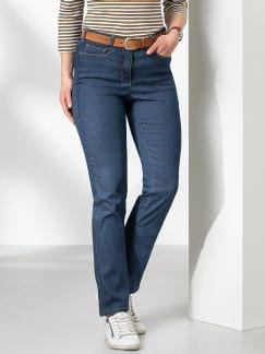 Passform Jeans Slim Fit Blue Stoned Detail 1