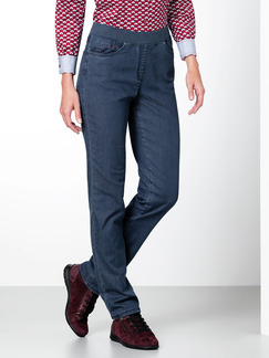 Raphaela by Brax Thermo Jeans Blue Stoned Detail 1