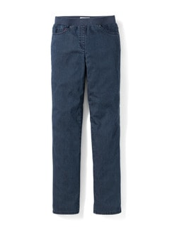 Raphaela by Brax Thermo Jeans Blue Stoned Detail 2