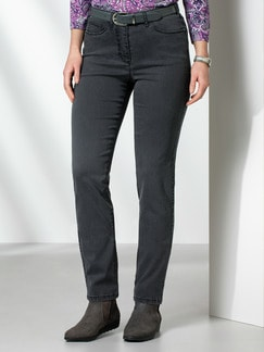 Passform Jeans Regular Fit Grey Detail 1