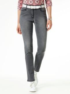 Skinny Jeans Grey Detail 1