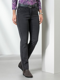 Passform Jeans Feminine Fit Grey Detail 1