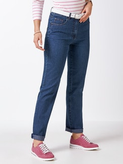 Highstretch-Jeans Blue stoned Detail 1