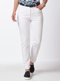Highstretch-Jeans White Detail 1
