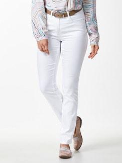 Yoga-Jeans Ultraplus Weiß Detail 1