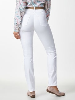 Yoga-Jeans Ultraplus Weiß Detail 3