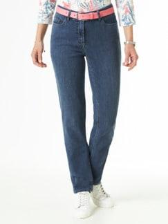 Jogger Jeans Mid Blue Detail 1