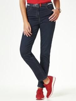 Gürtel- Jeans Dark Blue Detail 1