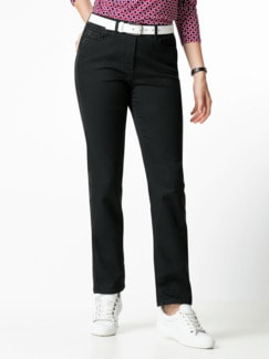 Thermolite- Jeans waterrepellent Black Detail 1