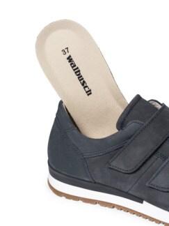 City-Klett-Sneaker Jeansblau Detail 3