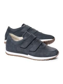 City-Klett-Sneaker Jeansblau Detail 1