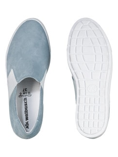 City-Slipper Himmelblau Detail 2