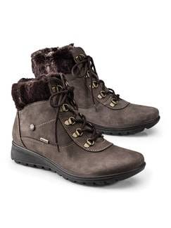 Aquastop Alle Wetter Stiefel Taupe Detail 1