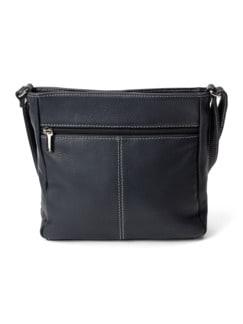 Leder-Handtasche Marine Detail 3