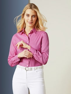 Easycare-Bluse Summer Love Rose Detail 1