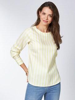 Extraglatt Pima-Cotton Shirtbluse