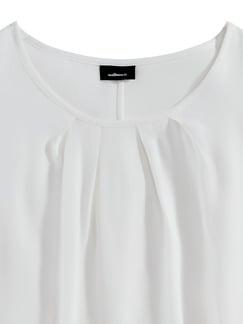 Blusentop Weiß Detail 3