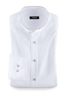 Extraglatt Shirt Weiß Detail 1