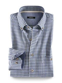 Baumwoll-Seiden-Hemd