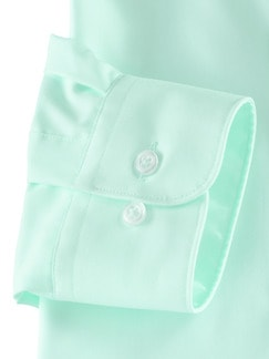 Extraglatt-Hemd Kent-Kragen Mint Detail 4