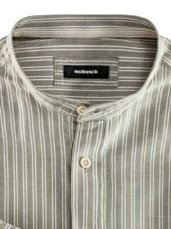 Wüsten-Hemd Streifen Khaki Detail 3